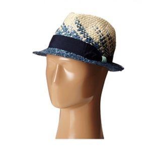 Accessories - Michael Stars Take A Dip Fedora Straw Hat